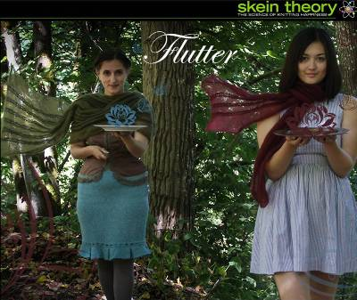 Flutter by Susanna IC, Skein Theory, Fall 2012, photo © Skein Theory
